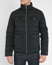 Pyrenex Black Adventure Pr Down Jacket With Multiple Pockets