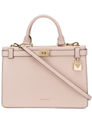 Michael Kors Collection Leather Tote Bag Pink