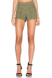 Rag And Bone Cargo Short Green