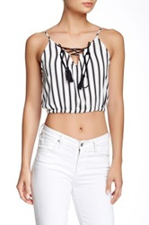 House Of Harlow Rodeo Cropped Bubble Tank White
