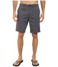 O'neill Anchor Walkshorts Charcoal Men's Shorts Gray