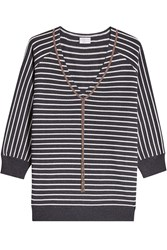 Brunello Cucinelli Striped Cashmere Pullover