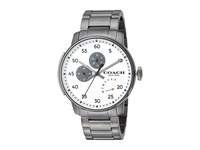 Coach Bleecker 14602359 Silver White Watches
