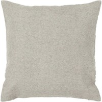 Chandra Textured Contemporary Wool Pillow Grey 2 18 Inch