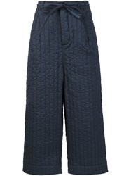 Craig Green Quilted Workwear Trouser Blue