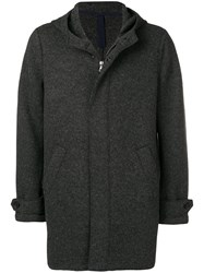 Harris Wharf London Single Breasted Fitted Coat Grey