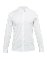 Ted Baker Men's Raabin Satin Stretch Shirt White
