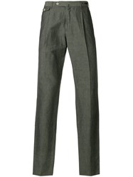 Pt01 Cropped Chinos Green