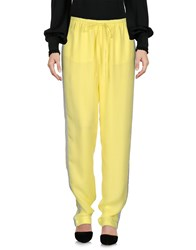 Just In Case Casual Pants Yellow