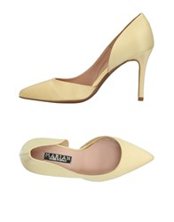 Marian Pumps Light Yellow