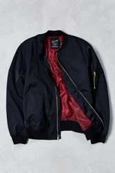 Cpo Nylon Summer Bomber Jacket Black