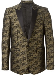 Just Cavalli Button Blazer Metallic