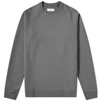Folk Rivet Crew Sweat Grey