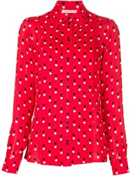 Christopher Kane Heart Print Shirt
