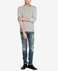 Denim And Supply Ralph Lauren Men's Crew Neck Sweater Gray