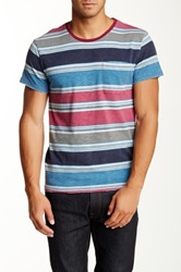 Artisan De Luxe Rory Striped Tee Multi
