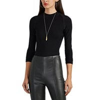 Narciso Rodriguez Compact Knit Sweater Black