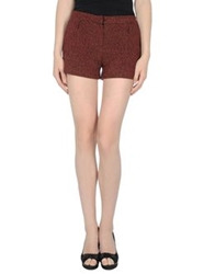 Axara Paris Shorts Maroon