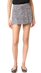 Boutique Moschino Tweed Skort Multi