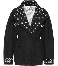 Isabel Marant Emmetis Reversible Cotton Jacket Black