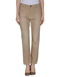Fifty Four Trousers Casual Trousers Women Sand