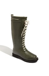 Ilse Jacobsen Women's Hornbaek Rubber Boot Army