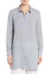 Eileen Fisher Women's Handkerchief Organic Linen Tunic Shirt