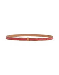 Fossil Belts Brick Red