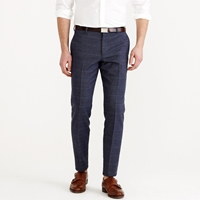 J.Crew Ludlow Suit Pant In Dotted Windowpane Italian Cotton
