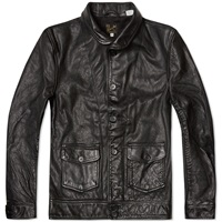 Levi's Vintage 1930S Menlo Leather Jacket Black