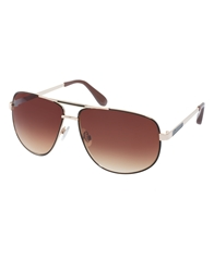 Jeepers Peepers Aviator Sunglasses Brown