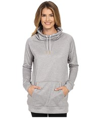 New Balance Sunrise Sweatshirt Light Grey Heather Women's Sweatshirt Gray