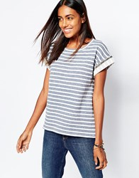 Soaked In Luxury Striped T Shirt 900Pattern