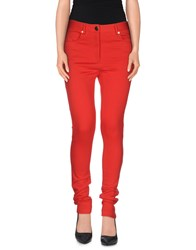 Moschino Trousers Casual Trousers Women Red