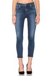 A Gold E Sophie High Rise Crop Skinny Claremont