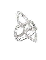 Thomas Sabo Flower Oriental Sterling Silver Ring