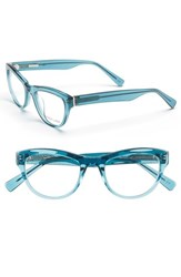 Women's Derek Lam 48Mm Optical Glasses Ocean Crystal