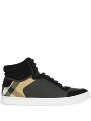 Burberry House Check High Top Sneakers 60