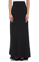 Alberta Ferretti Satin Back Crepe Long Skirt Multi Size 40 It