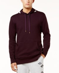 American Rag Men's Good Vibes Hoodie Created For Macy's Dark Cherry