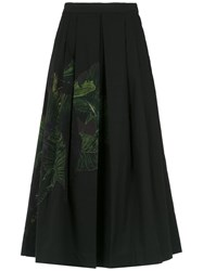 Isolda Rio Flared Skirt Black