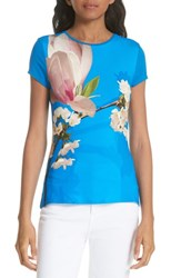 Ted Baker London Harmony Fitted Tee Bright Blue