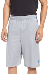 Under Armour Men's 'Select' Moisture Wicking Basketball Shorts Steel