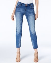 Inc International Concepts Straight Fit Cropped Jeans Only At Macy's Indigo