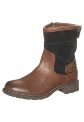 Tom Tailor Boots Cognac Navy