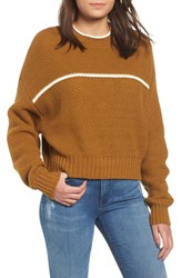 Rvca Jammer Seed Stitch Sweater Beeswax