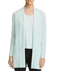 Eileen Fisher Long Open Front Cardigan Aurora