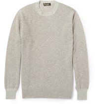 Loro Piana Baby Cashmere Sweater Gray