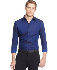 Inc International Concepts Joshua Non Iron Shirt Only At Macy's Navy