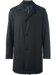 Hugo Boss Single Breasted Coat Black
